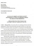 Tampa press release writing portfolio