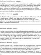 Five Star Forum Mission Statement – external 1 portfolio